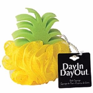 💥 NWT Day In Day Out Pineapple Bath Sponge Loofah